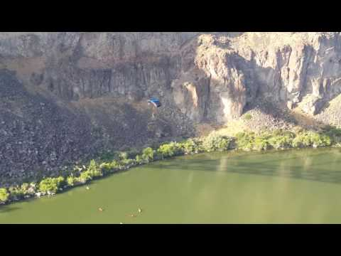 Base Jumping off the Perrine Bridge in Twin Falls Idaho