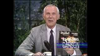 Johnny Carson Blooper: Johnny Can't Stop Laughing While Welcoming a New Sponsor