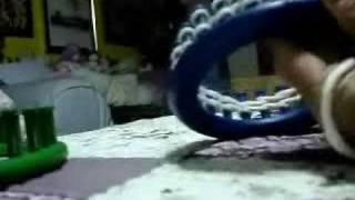 Tejiendo En Telares Loom Knitting Parte 1