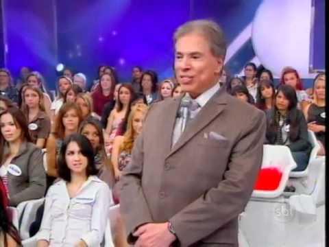 Programa Silvio Santos - Jogo das 3 Pistas: Helen Ganzarolli e Babbu - Parte 1