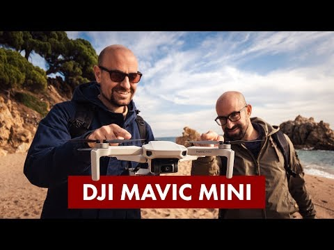 video DJI Mavic Mini – Dron Ultraligero y Portátil, Duración Batería 30 minutos, Distancia Trasmisión 2 Km, Gimbal 3 Ejes, 12 MP, Video HD 2.7K, Blanco
