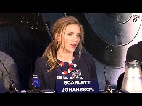 Scarlett Johansson Interview Captain America The Winter Soldier Premiere