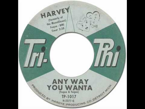 Thumbnail of video HARVEY - Any Way You Wanta [Tri-Phi TP-1017] 1962
