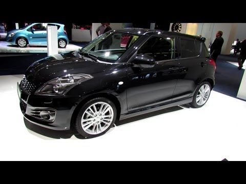 2014 Suzuki Swift Sport - Exterior and Interior Walkaround  2013 Frankfurt Motor Show