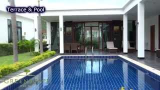 For Sale Pool Villas Lotus 1 in thailand Hua Hin, with all fees and tax for registration to land department