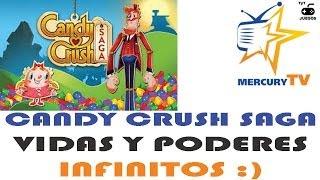Candy Crush Saga Vidas Infinitas Y Todos Los Poderes