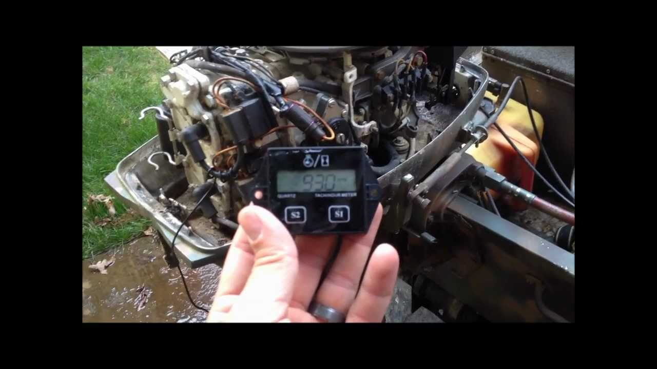 How To Install Hour Meter On Yamaha Outboard
