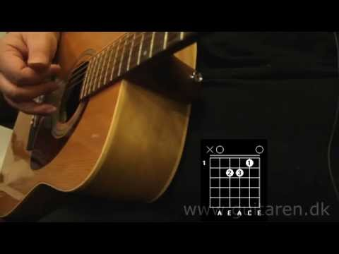 Guitar undervisning - This Is My Life - Kim Larsen - akkorder og fingerspil