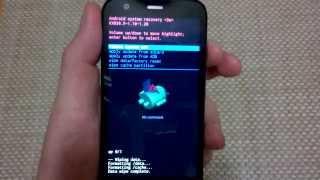 Motorola Moto G Alternate Factory Data Hard Reset, Master