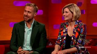 Ryan Gosling, Lady Gaga & Jodie Whittaker play the Theremin   The Graham Norton Show   BBC America