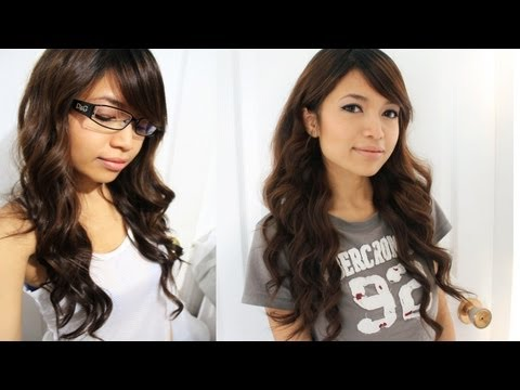 Soft Natural Looking Curls Hair Tutorial - Everyday Hairstyles