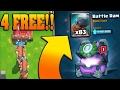 WIN FREE BATTLE RAMS Clash Royale 12 Win Grand Battle Ram Challenge Chest OP