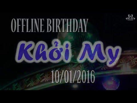 [10.01.2016] Offline Birthday Khởi My lần thứ 26