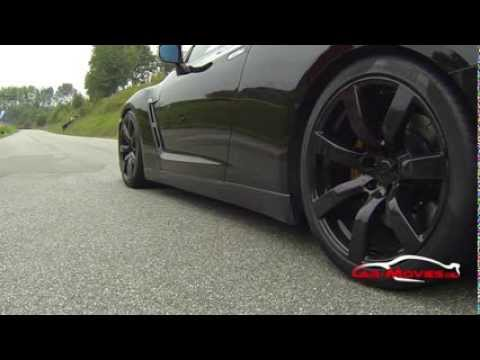 Nissan GTR R35 Slowmotion Launch Control GoPro Hero HD Black Edition 1