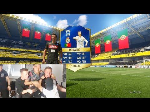 FIFA 17: RONALDO 99 GEZOGEN 😱 BESTES PACK OPENING ALLER ZEITEN