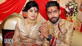 IANS :Ravindra Jadeja Gets Engaged to Reeva Solanki