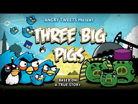 Three Big Pigs. Фан-мультфильм на тему нынешней мировой политической обстановки