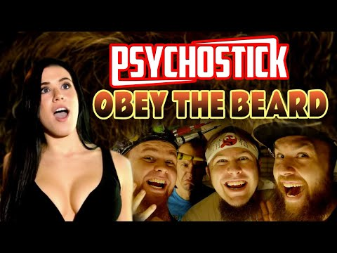 Obey the Beard by Psychostick [Official] Beard Song online metal music video by PSYCHOSTICK
