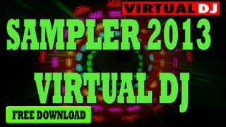 Samplers 2013 HIP-HOP, ELECTRONICA,CUMBIA Para Virtual Dj