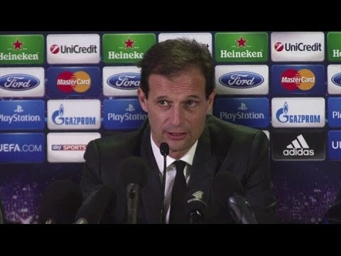Allegri hopes Champions League will bring change in fortune