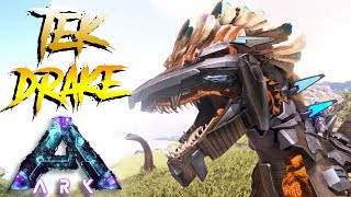 TEK ROCK DRAKE VS MAD GIGANOTOSAURUS!! NGAKAK!! - ARK SURVIVAL EVOLVED RAGNAROK