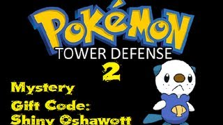 Pokemon Tower Defense 2 Mystery Gift Code Shiny
