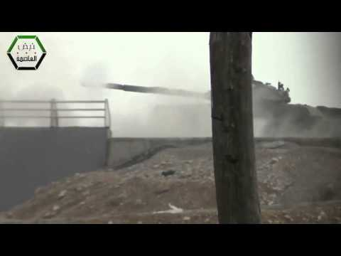 Syrian News-Syria   SAA tanks pounding rebels in Jobar 7   2 New HD 720p