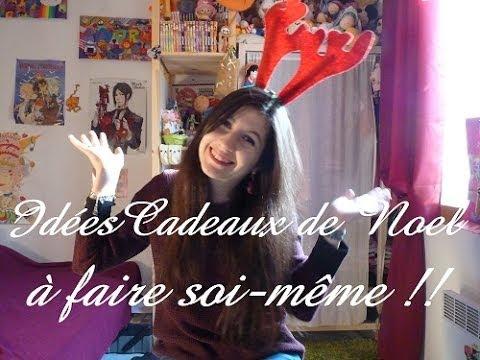 Noel 2 id es cadeaux faire soi m me youtube - Idees cadeaux noel a faire soi meme ...