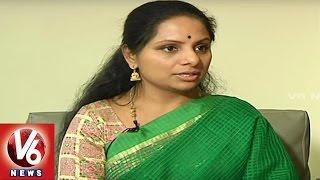 MP Kavitha speaks about Political Successor of CM KCR