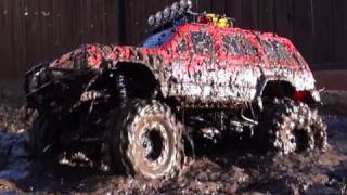 RC ADVENTURES MUD, MUD, & MORE RC MUD !! Scale RC 4x4