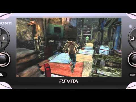 TGS 2011: Uncharted: Golden Abyss - Gameplay Demo (VITA)