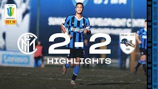INTER 2-2 PESCARA | PRIMAVERA HIGHLIGHTS | Mulattieri and Schirò's goals aren't enough ⚫🔵?