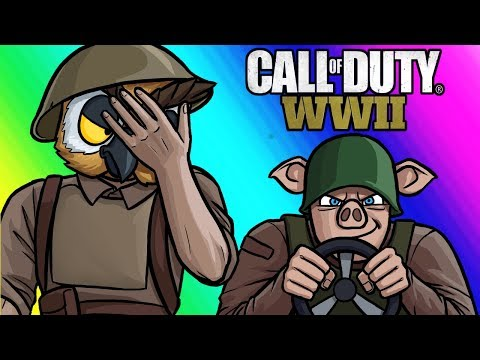 Call of Duty WW2 Funny Moments  Captain Jacks Idiot Platoon