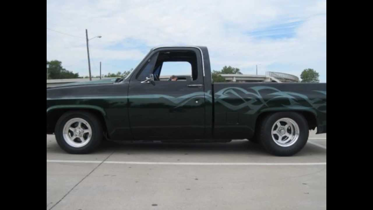 86 Chevy C10 W  Crager 4-71 Supercharger
