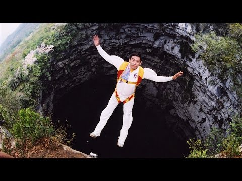 Cave BASE Jumping - Cave of the Swallows - Documentary - Aerial Extreme