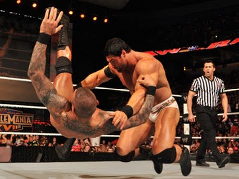 Raw: Randy Orton vs. Mason Ryan