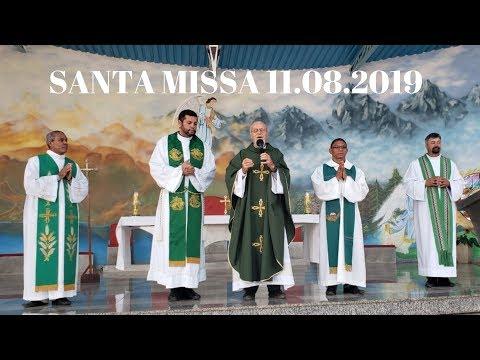 Santa Missa | 11.08.2019 | Padre José Sometti | ANSPAZ
