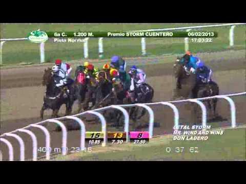 Vidéo de la course PMU PREMIO STORM CUENTERO