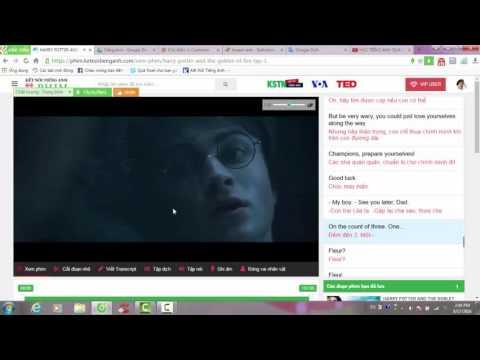 HỌC TIẾNG ANH QUA PHIM - Harry Potter và Chiếc Cốc Lửa