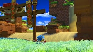 Sonic Forces - Green Hill Zone Játékmenet