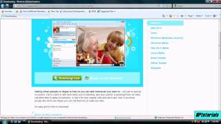 PC Tutorial How To Download And Install Skype (Version 4