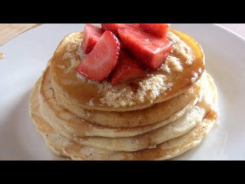 PANCAKES with MAPLE BUTTER – CLASSICS RECIPE