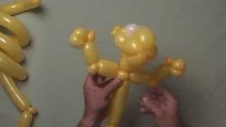 Advanced Balloon Twisting Art Disney How To Make A Tigger