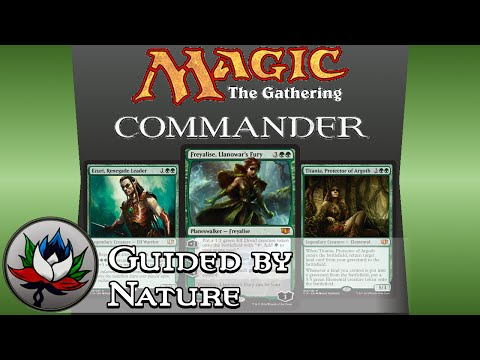 Mtg Commander Deck 2014 Mtg Guided By Nature Commander