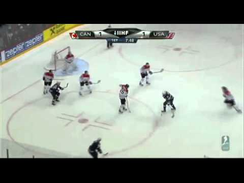 USA - Canada IIHF 2012 Second Wave Attack.mp4