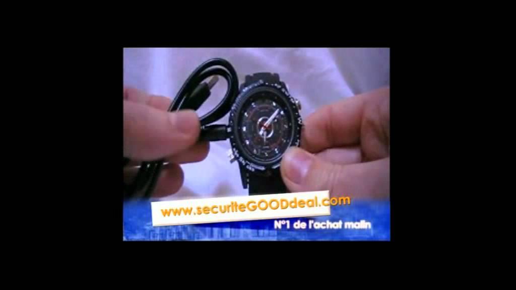 Mode d emploi montre camera micro espion www for Alarme maison securite good deal