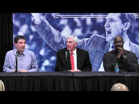 Jerry Sloan honored with retired