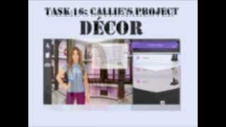 Stardoll Academy Walkthrough Task 16: Callie's Project
