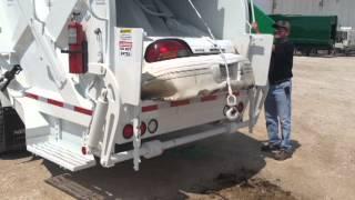 Dump Truck Eats Car