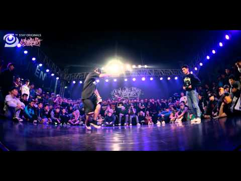 FULL DECK (SKILLMETHODZ) VS BBOY NO NAME | BOOM JAM  HD